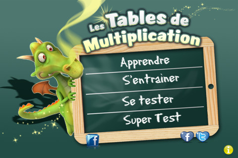 Tables de multiplication sur ipad et iphone - Application pour apprendre les tables de multiplication ...