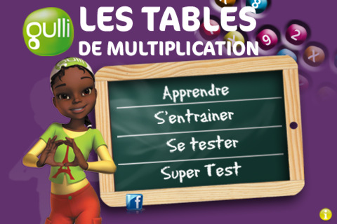 Gulli1 - Les table de multiplication de 1 a 10 ...